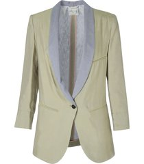 cupro smoking jacket