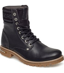 kevina high tmb w shoes boots ankle boots ankle boot - flat svart björn borg