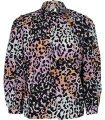 leopard print lety top