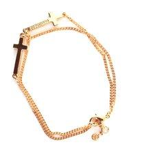 dsquared2 metal jesus bracelet w/cross
