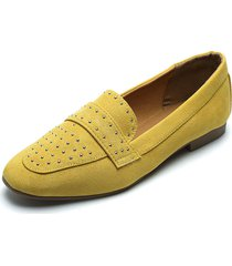 mocasin amarillo qupid
