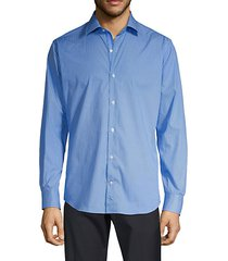 trim-fit chevron shirt