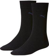 puma sokken 2-pak blauw