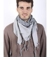 pañuelo gris spiga 31