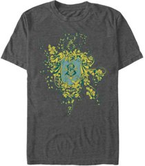 fifth sun harry potter men's goblet of fire beauxbatons crest short sleeve t-shirt