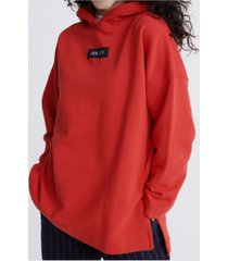 superdry women's edit oversized hoodie
