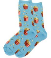 hot sox women's popcorn fashion crew socks
