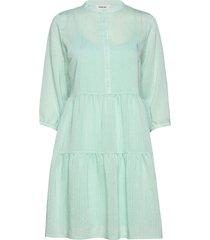 cathrine dress knälång klänning grön modström