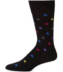 star mid-calf socks