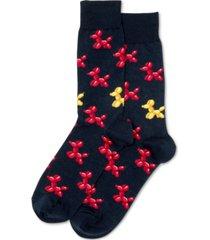 hot sox men's balloon dog socks