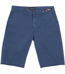 cotton twill bermuda for man