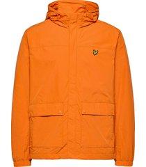 hooded pocket jacket dun jack oranje lyle & scott