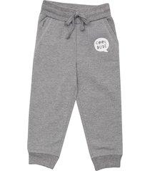 pantalon buzo bebo i gris melange corona