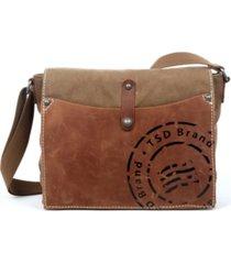 tsd brand super horse canvas messenger bag