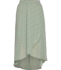 caitlin knälång kjol grön mbym