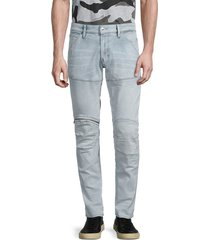 g-star raw men's low-rise skinny-fit jeans - sun faded wash - size 32 30