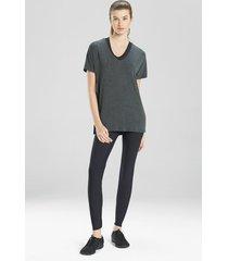 atleisure layering elements dolman t-shirt top (moisture-wicking), women's, size l