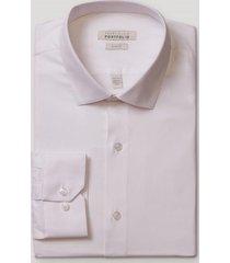 camisa formal dobby blanco perry ellis