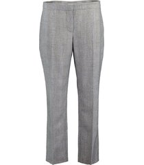 black and ivory cigarette trouser