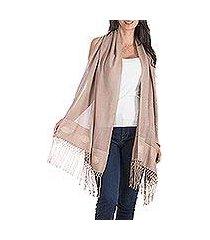 shawl, 'earth's gifts' (guatemala)