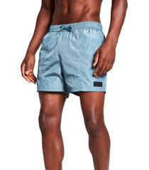 river island pablo swim shorts, size xx-large in green at nordstrom