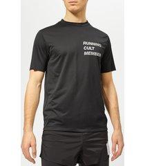 satisfy men's light short sleeve t-shirt - black - l - black