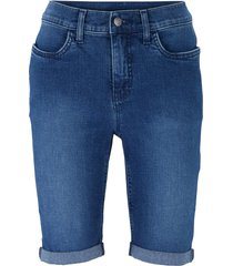 bermuda in jeans elasticizzati (blu) - john baner jeanswear