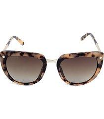 53mm modified cat eye sunglasses