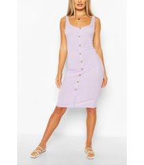 button front midi dress, lilac