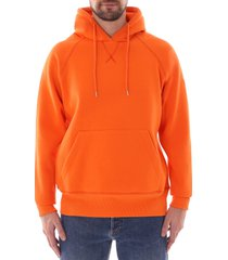 c17 hooded sweatshirt - mandarin orange - swtf002