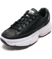 tenis lifestyle negro-blanco adidas originals kiellor w
