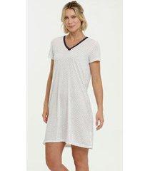 camisola estampa bolinhas manga curta marisa - 10038105364 feminina