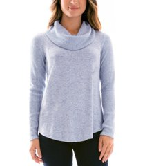 bcx juniors' cowlneck sweater