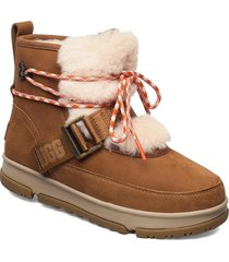 w classic weather hi shoes boots ankle boots ankle boot - flat brun ugg