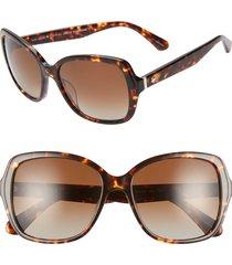 women's kate spade new york karalyns 56mm polarized sunglasses -