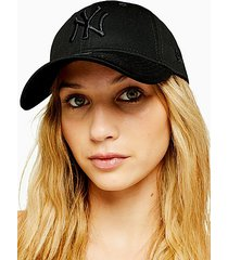 black new era ny 940 cap - black