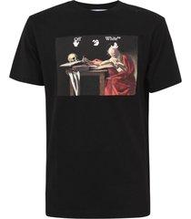 off-white caravaggio slim t-shirt