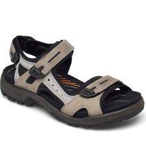 offroad shoes summer shoes sandals beige ecco