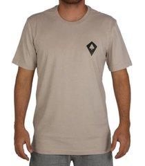 camiseta regular mcd logo masculina