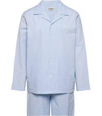 resteröds woven pyjamas pyjama blauw resteröds