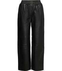 vaellus trousers wijde broek zwart marimekko