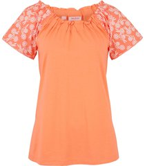 maglia con spalle scoperte (arancione) - john baner jeanswear