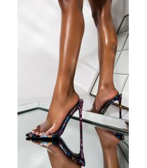 akira cape robbin if you say so stiletto sandal