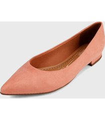 baleta azul palo rosa
