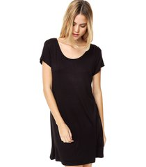 vestido negro olive serendipia