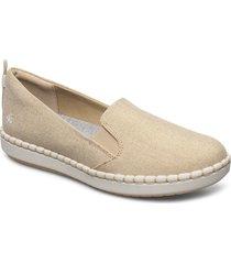 step glow slip loafers låga skor beige clarks