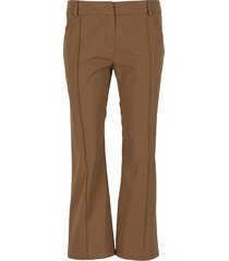 capri slim fit trousers