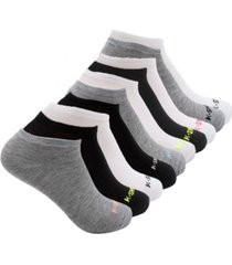 k-swiss women's ankle low cut athletic socks, 10 pack