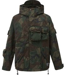 104170-363 | detailed camo jacket | camo green - xl