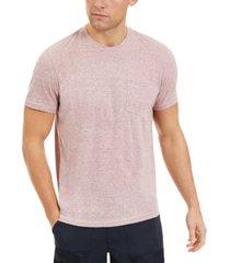 sun + stone men's heathered pocket t-shirt, created for macy's